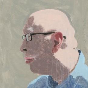 """Wang Yuping """"Yue Xin's Portrait"""" oil pastel acrylic 42 x 61 cm 2012 290x290 - Wang Yuping"""