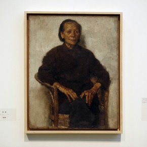 Work 02-Grandma by Chen Danqin, 1974; Oil on canvas