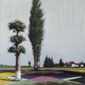 only 2 - Körper der Zeichen 1 2009 Oil on canvas 200 x 160 cm