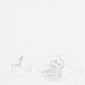 14 Running Water...No.1, 2011; drawing on paper, 30×21cm