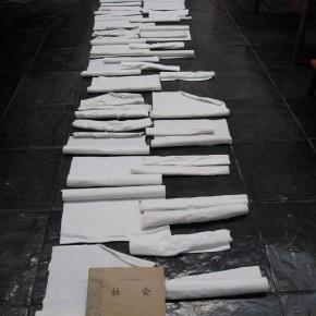 15 Lv Pinchang- Society, 2011; ceramic, variable dimensions