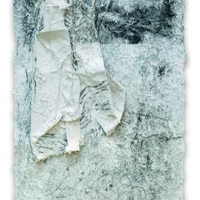 19 Tang Chenhua-Spread Curve in C Minor No. 30, 2011; handmade silk paper, 110×80cm