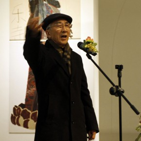 2011 Annual Nominated Exhibition of Plastic Arts 11-Honorary Chairman of Chinese Artists Association, former president of CAFA, Jin Shangyi