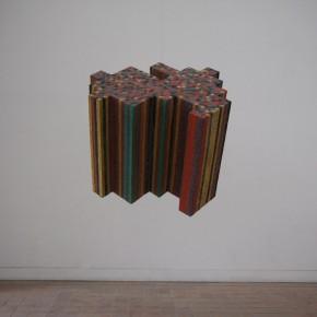 31 SASAKI HAYATO- Fragment of an image, 2010; 90×90×90cm