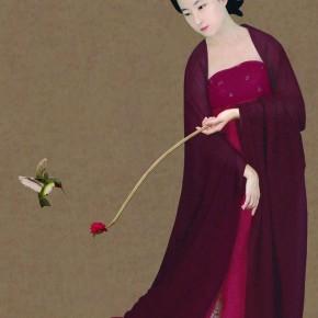 Kang Da-Lady Wearing Floral Hairpin 01