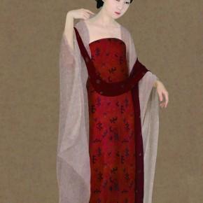 Kang Da-Lady Wearing Floral Hairpin 02