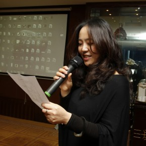 01 Ms. Zhang Yanzi, Executive Editor of CAFA ART INFO presided over the banquet.