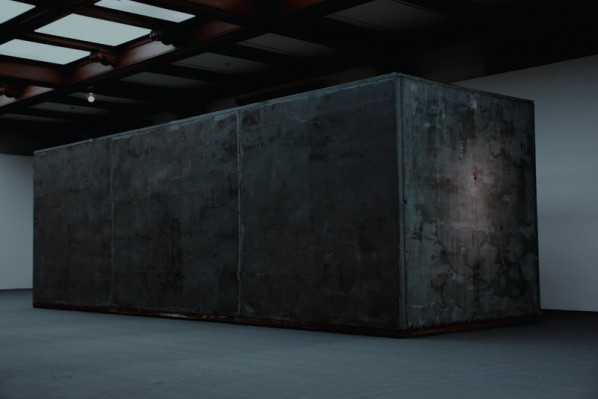 Sui Jianguo- Restricted Motion 02, 2010;  250 x 250 x 800cm