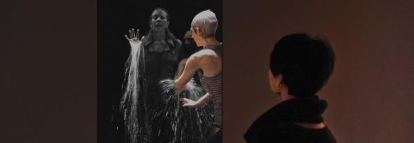 Two Women - Bill Viola/ Single channel video, silent  10 mins  2008