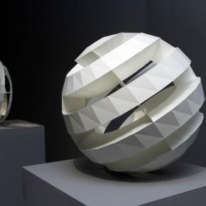 Work 004 KIDO OSAMU-Spiral-p1 P1, 2011; paper, 54×54×54cm