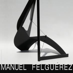 "01 Poster of ""Manuel Felguérez: Recent Works"""