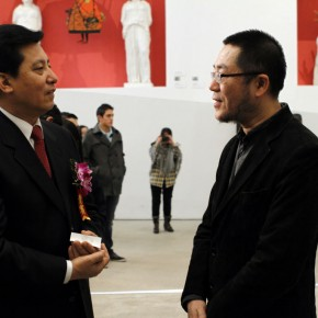 "06 The Opening Ceremony of ""Manuel Felguérez: Recent Works"""