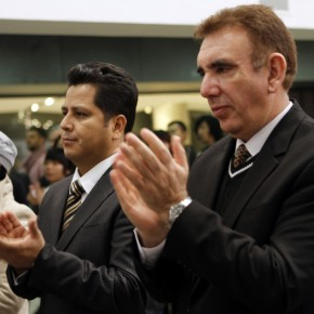 "10 The Opening Ceremony of ""Manuel Felguérez: Recent Works"""