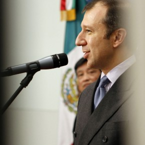 "11 The Opening Ceremony of ""Manuel Felguérez: Recent Works"""