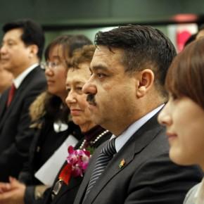 "12 The Opening Ceremony of ""Manuel Felguérez: Recent Works"""