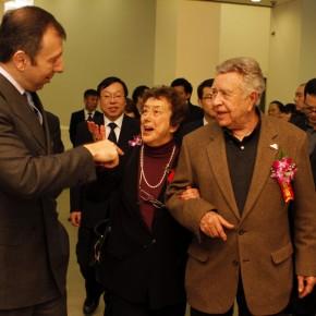 "14 The Opening Ceremony of ""Manuel Felguérez: Recent Works"""
