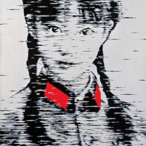 16 Song Ying-Girl No.54, Oil on canvas, 100 x 50 cm, 2008