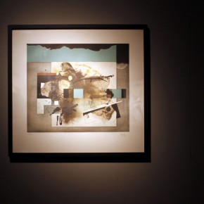 "17 Installation view of ""Manuel Felguérez: Recent Works"""