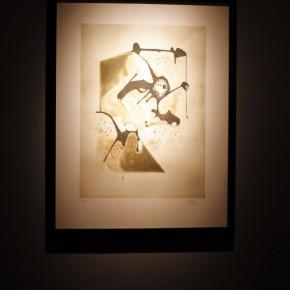 "18 Installation view of ""Manuel Felguérez: Recent Works"""