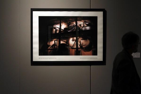 "19 Installation view of ""Manuel Felguérez: Recent Works"""