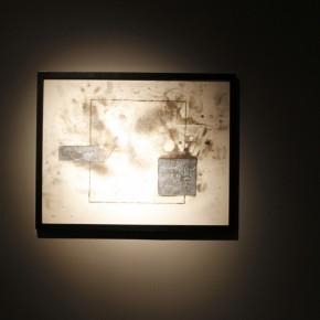"21 Installation view of ""Manuel Felguérez: Recent Works"""