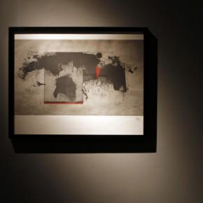 "23 Installation view of ""Manuel Felguérez: Recent Works"""