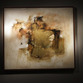 "24 Installation view of ""Manuel Felguérez: Recent Works"""