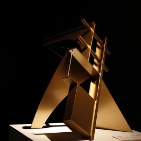 "25 Installation view of ""Manuel Felguérez: Recent Works"""