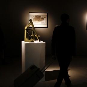 "26 Installation view of ""Manuel Felguérez: Recent Works"""