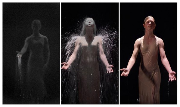 BILL VIOLA-Anika, 2008; Color High-Definition video on LCD panel, 24.8 x 14 x 2.36 inches; 63 x 35.5 x 6 cm