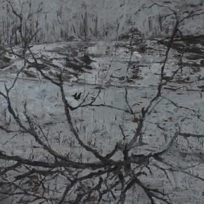 Guo Sun-Scenery, 2011; acrylic on canvas, 200cm x 210cm