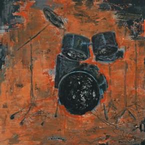 Guo Sun-Untitled, 2011; acrylic on canvas, 200 x 210cm
