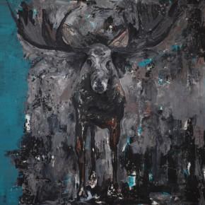 Guo Sun-Untitled, 2011; acrylic on canvas, 200cm x 210cm