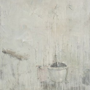 Sun-Xun-Stool-Flower-Pots,-2011;-Mix-Media,-210x160cm