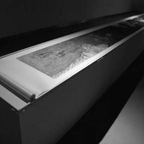 The Millennium Monument, 1180x45cm, xylograph and Chinese art paper, 2010