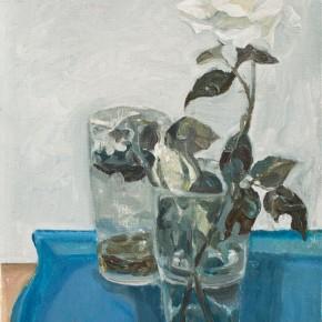 Wang Qiao-White, 2009; oil painting, 30x20cm