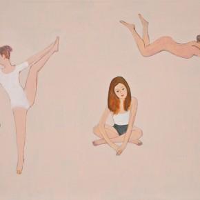 Zhang Hui-Little Flying People, 2011; arcylic on canvas, 61x81cm