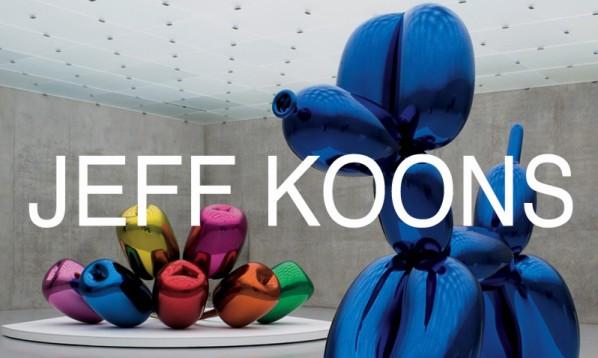 home page of Jeff Koons