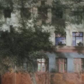 01 Kang Haitao, Colored House, 2012; acrylic on board, 92×201cm