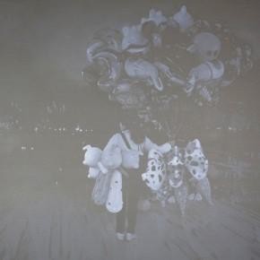 01 Poster of Luo Mingjun Dust, Solo Exhibit at Pekin Fine Arts