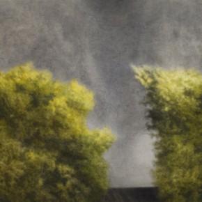 02 Kang Haitao, Trees, 2011; acrylic on board, 90×195cm
