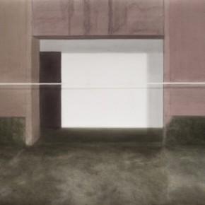 03 Kang Haitao, The Door, 2011; acrylic on board, 101×138cm