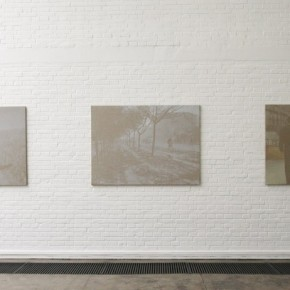 03 Luo Mingjun Dust, Solo Exhibit at Pekin Fine Arts; Photo by artspy.cn