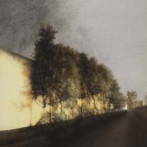 04 Kang Haitao, Trails, 2011; acrylic on board, 158×101cm