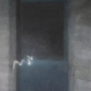 05 Kang Haitao, The Door, 2011; acrylic on board, 147×101cm