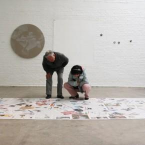 07 Luo Mingjun Dust, Solo Exhibit at Pekin Fine Arts; Photo by artspy.cn