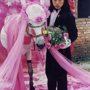 09 Wang Jin, To Marry a Mule, 1995, Chromogenic print, ed. 1/3 101 x 67 in