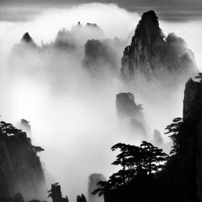 10 Wang Wusheng, Mt. Huangshan (A124), 2004 Gelatin silver print, 39 1/4 x 31 3/8 in