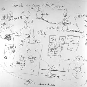 Working Progress 01 of Zhan Wang: Universe