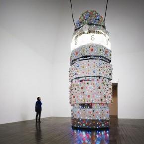 11 Hong Kong International Art Fair, Tatsuo Miyajima's Hoto, exhibiting at Scai the Bathhouse and Lisson Gallery